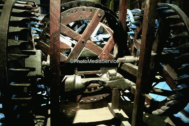 Photo: Coin Making Machines, Casa de la Moneda, Bolivia - Potosi