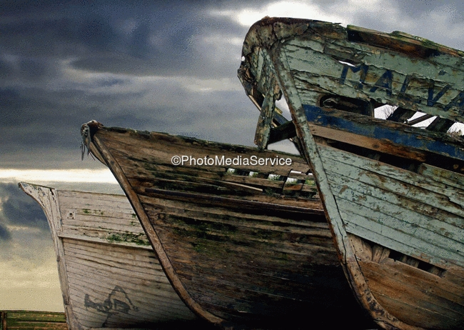 Photo: The Armada of the Abandoned Boats, Portugal - West coast